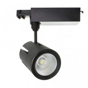 luminaled led lighting Spot sur rail 40W LED Pro - Noir - Triphasé
